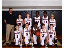 2019-2020 LJHS 7th grade Boys White Basketball