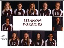 LJHS 7TH GRADE WHITE VOLLEYBALL