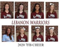 LJHS 7TH GRADE FOOTBALL CHEER