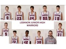 8th Grade Boys White