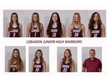 8th Grade Girls Maroon