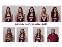 8th Grade Girls Maroon