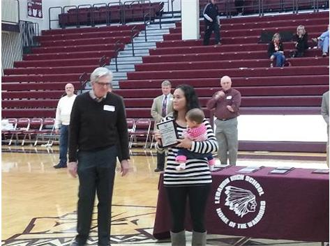 Sarah Baillie VanTassel 2014 LHS Hall of Fame Inductee