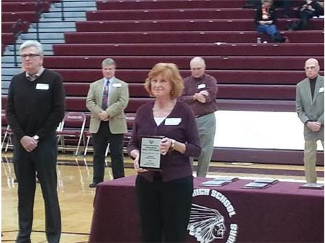 Cheryl Bostwick Vorst joins the 2014 LHS Hall of Fame