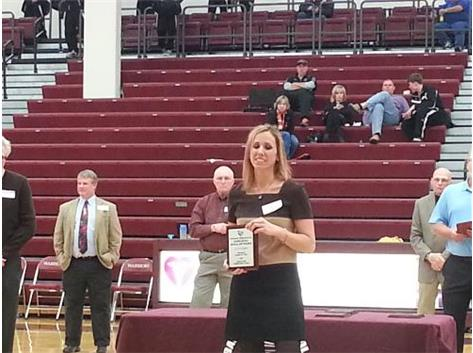 Lisa Schaad 2014 LHS Hall of Fame Inductee