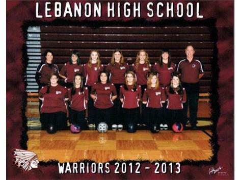 Senior Regan DeGeorge (back row,5th from Left)) and Junior Emily Temple (front row, 3rd from Left)individually qualified for districts during the 2012-2013 season.