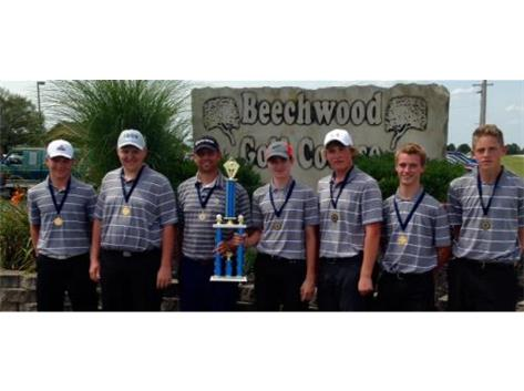2015 Dorwood Champions--Coach T. Johnson's 1st title at Lebanon