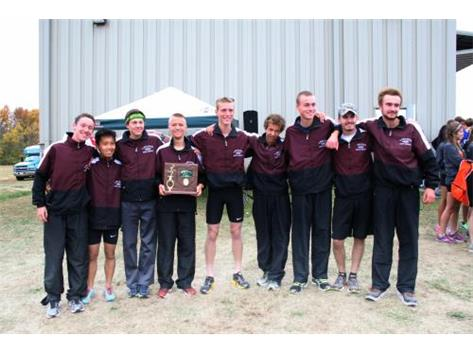 2015 Boys' Cross Country District Champions