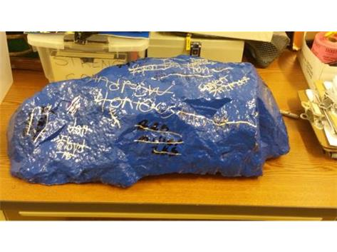 """With a 40-32 win at Springboro, the """"Rock"""" returns to Lebanon.  It will soon be WARRIOR MAROON."""