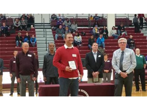 Tyler Pritchard Class of 2004 inducted in the LHS 2015 Class