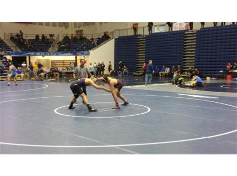 D. Amburgy locks up w/ Butler and then records the pin in the 1st round of the GWOC Championships