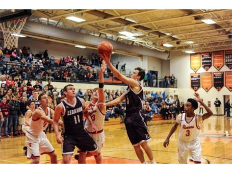 Drew Sekerak lays one in at Beavercreek