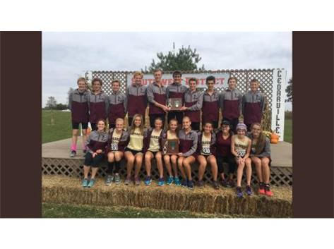 Cross Country qualifying for Regionals.