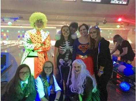 Great friends and costumes at our 2018 fundraiser.