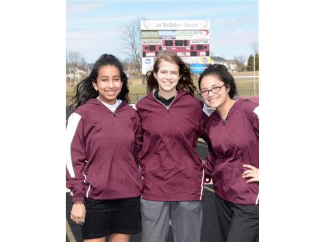 2019 LJHS Track Team Managers