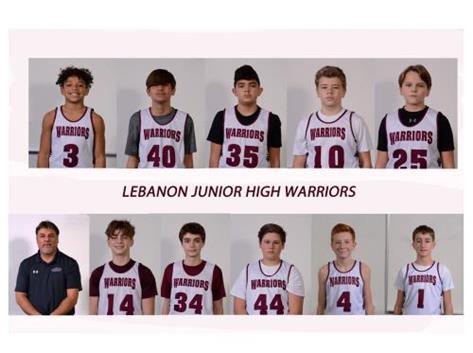 7th Grade Boys White