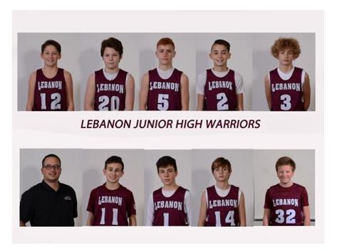 7th Grade Boys Maroon