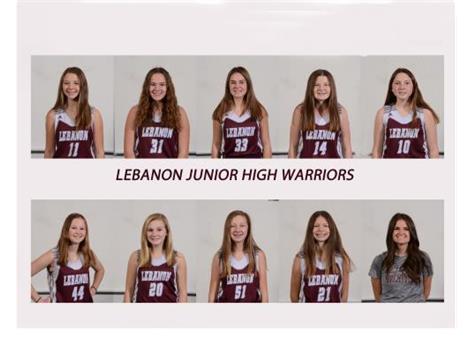 7th Grade Girls Maroon