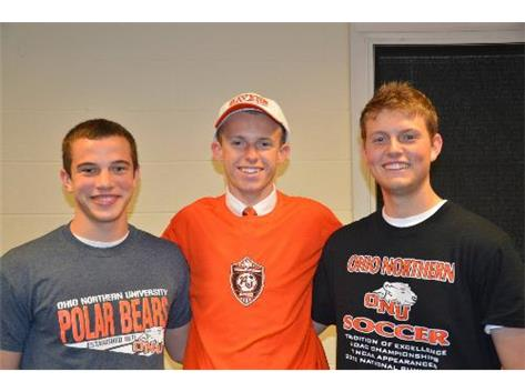 Boys Soccer Signees