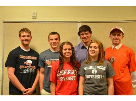 Spring 2013 Collegiate Signees