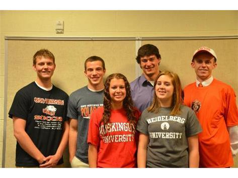 Spring 2013 Collegiate Signees