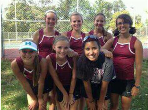 Varsity Tennis competed in the GWOC Silver Flight on 9/28/13 in Troy