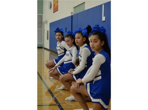 Cheerleaders reCHARGING!