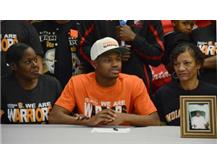 BJ Mays signs his National Letter of Intent to run track at the Indiana Institute of Technology.