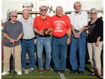 The 1946 State Champion Central Dragons Football team honored.