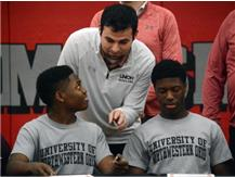 Spartan bowlers Keonte Bankston and Dre'Ton Walton sign their National Letters of Intent to bowl at the University of Northwestern Ohio next year.