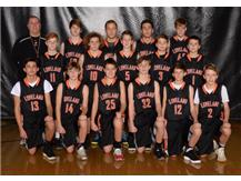 Boys Orange Basketball
