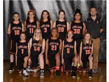 Girls Orange Basketball