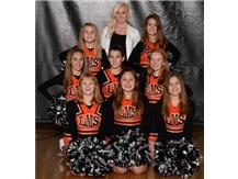 7th Grade Basketball Cheer Squad