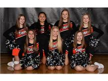 8th Grade Basketball Cheer Squad