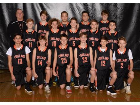 Boys Orange Basketball