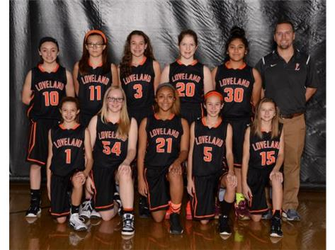 Girls Orange Basketball