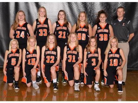 Girls Seventh Grade Basketball