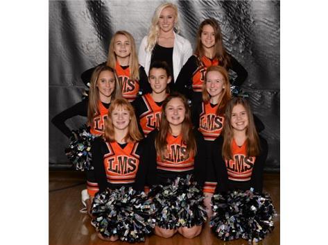 7th Grade Basketball Cheer Squad