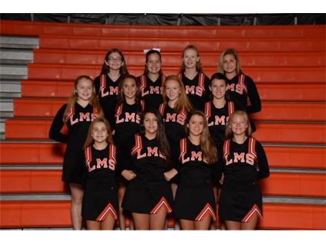2018-19 8th Grade Cheer