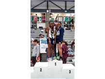 On the top of the podium - 1st Place Team