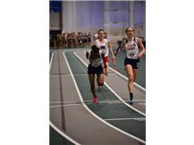 Illinois Top Times - 800m Relay - 1st Place - Kayla Armstrong with the finish lean