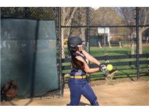 Kayleigh Ortiz batting