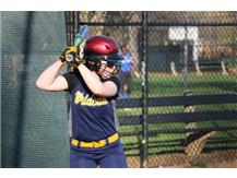 Stephanie Lamberty at the plate