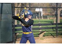 Bailee Stancil at the plate