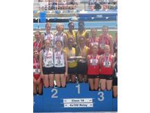 State Champion 400m Relay Team
