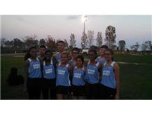 Wildcat Cross Country Team at Nike Challenge