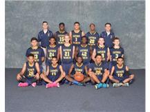 2015-16 Varsity Boys' Basketball Team Defending NAC Champions