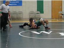 Tom Clark with the pin vs Walther.