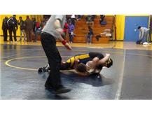 Erik Ruiz enroute to a pin