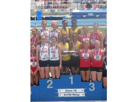 State Champion 400m Relay Team